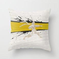 Japanese Tomboy (Homage to Makoto of Street Fighter) Throw Pillow