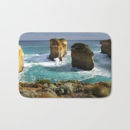 Twelve Apostles Australia Coast Bath Mat