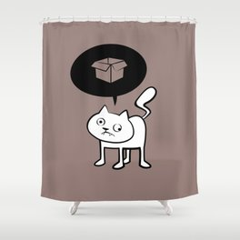minima - derpicat | box Shower Curtain