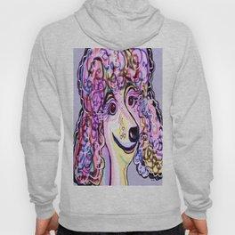 Lavender Poodle Hoody