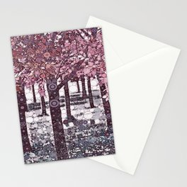 :: Girl Trees :: Stationery Cards