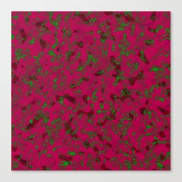 Rhubarb Spores Canvas Print