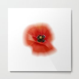 poppy zoom IX Metal Print
