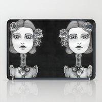mia wallace iPad Cases featuring Mia by Sandra Karlsson