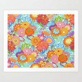 Jubilee Blooms Art Print