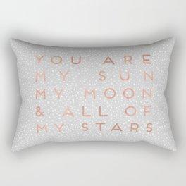 You Are My Sun Rectangular Pillow