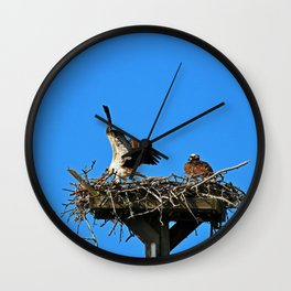 When Your Spouse is Being Dramatic I Wall Clock