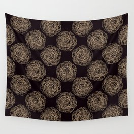 Pattern with roses 2 Wall Tapestry