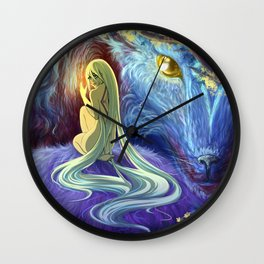 Werewolves Wall Clock