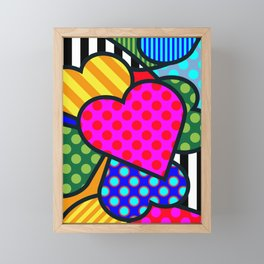 Lucky Heart Framed Mini Art Print