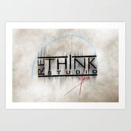 ReThink Studio Marty Sketch Art Print