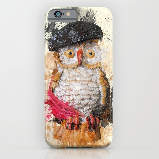 Spain Owl iPhone & iPod Case