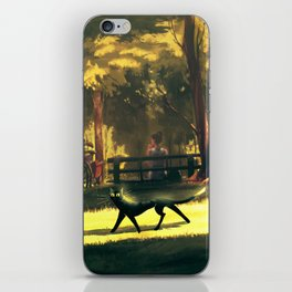 Busted cat iPhone Skin