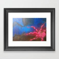 Blue II Framed Art Print