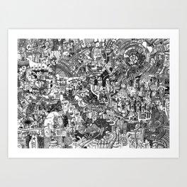 Dreaming of Innsmouth 2 Art Print