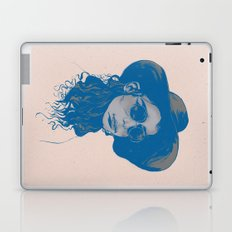 Woman in Hat and Sunglasses Laptop & iPad Skin