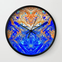 liquid no18.2 Wall Clock