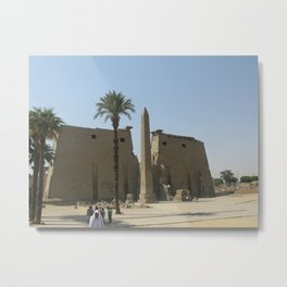 Temple of Luxor, no. 2 Metal Print