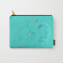 Greenish Monster Girl Carry-All Pouch
