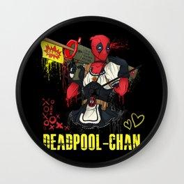 Dead Pool-chan Wall Clock