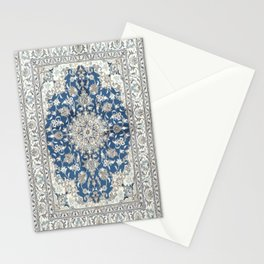 Antique Persian Rug - blue and gray Stationery Cards