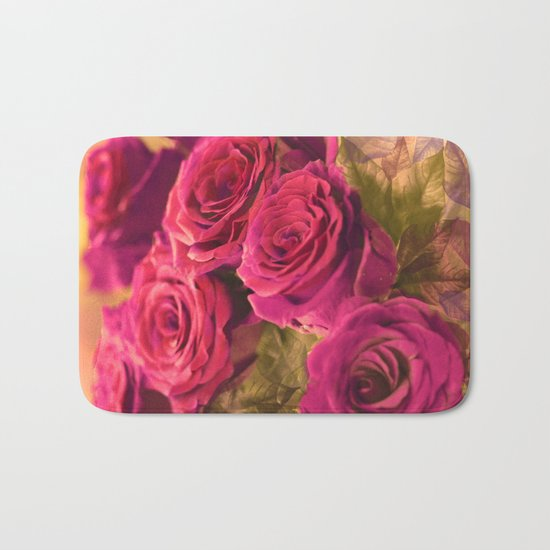 Romantic roses(2). Bath Mat