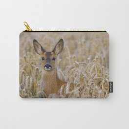 ROE DEER IN WHEAT Carry-All Pouch
