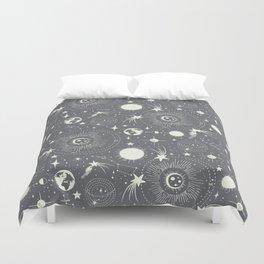 Solar System - Moon Dust Duvet Cover