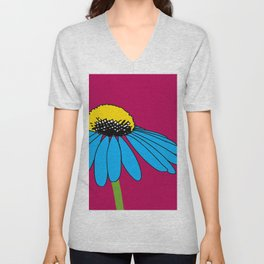 The ordinary Coneflower Unisex V-Neck