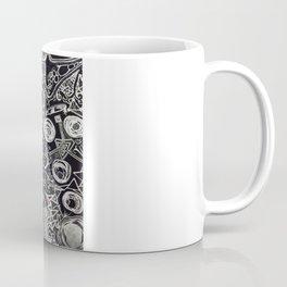 White/Black #2  Coffee Mug