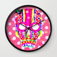 equality Wall Clocks featuring Equality by AKIKO