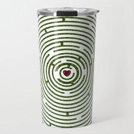 The maze to your heart Travel Mug