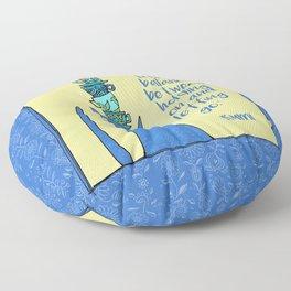 life is a balance ... Floor Pillow