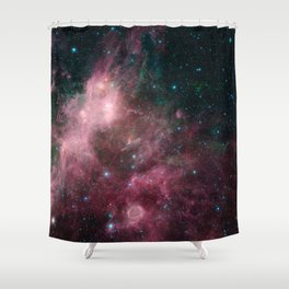 Life and Death Intermingled Shower Curtain