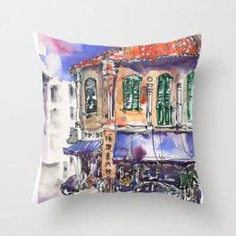20140414 Sam Leong St Throw Pillow