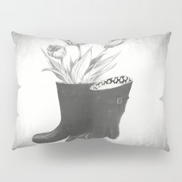 These boots are made for flowers Pillow Sham
