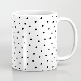 Polka Dots in Love Coffee Mug