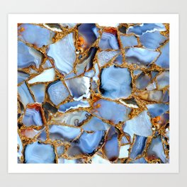 Coffee, Cream and Crystals Please Art Print