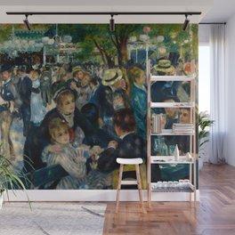 Pierre-Auguste Renoir - Dance at Le Moulin de la Galette Wall Mural