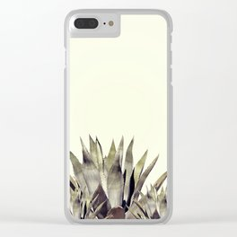 Agava cactus Clear iPhone Case