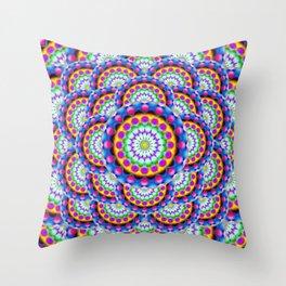 Mandala Psychedelic Visions G324 Throw Pillow