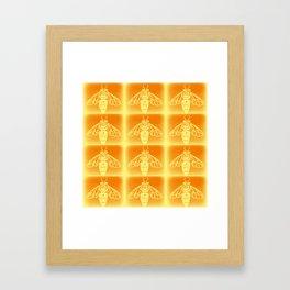 Bee Hive Framed Art Print