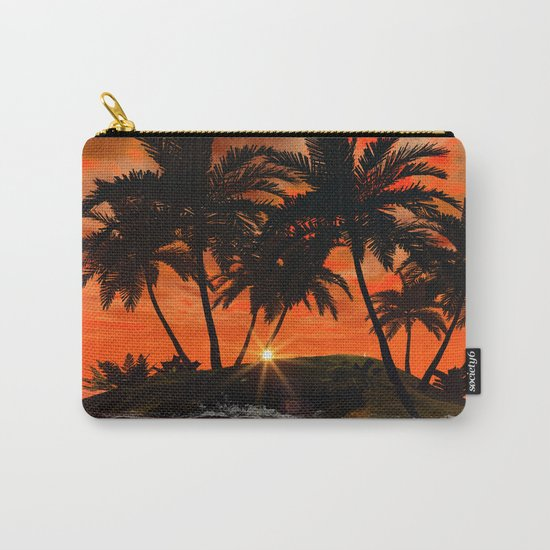 Wonderful red sunset Carry-All Pouch