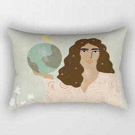 God is a Woman Rectangular Pillow