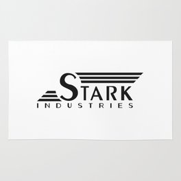 Stark Industries (Tee and Vinyl Cover) Rug