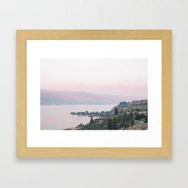 Sunset in Summerland Framed Art Print