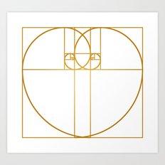 Heart of Gold Art Print