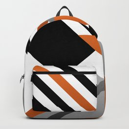 Sophisticated Ambiance - Silver & Honey Glow Backpack
