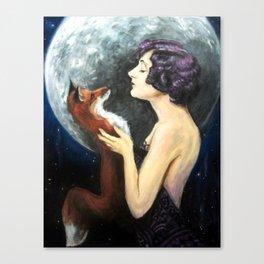 Waning Canvas Print
