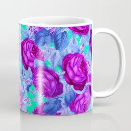 Blacklight Roses Coffee Mug